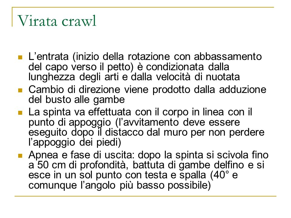 Virata crawl