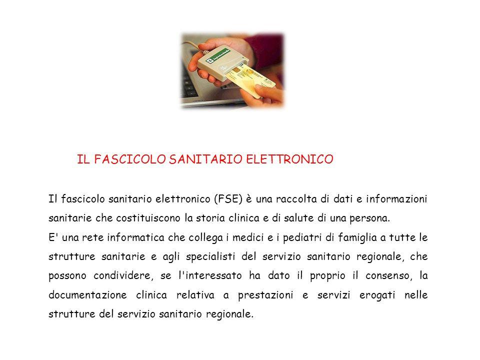 IL FASCICOLO SANITARIO ELETTRONICO