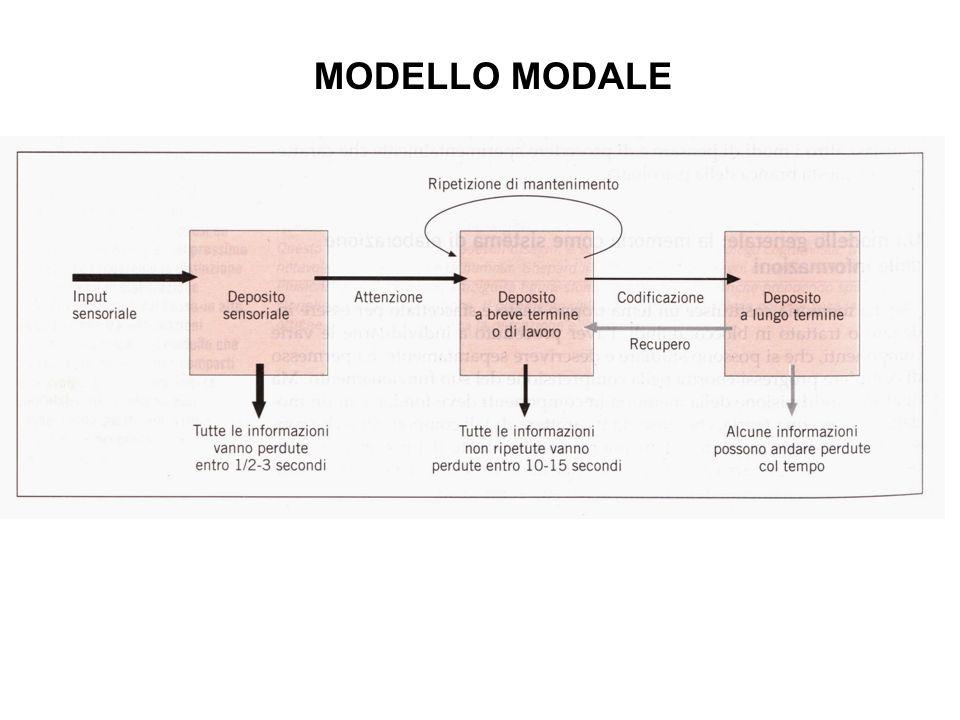 MODELLO MODALE