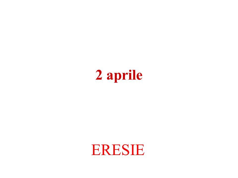 2 aprile ERESIE