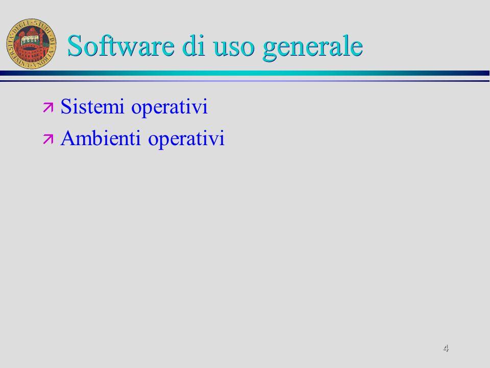 Software di uso generale