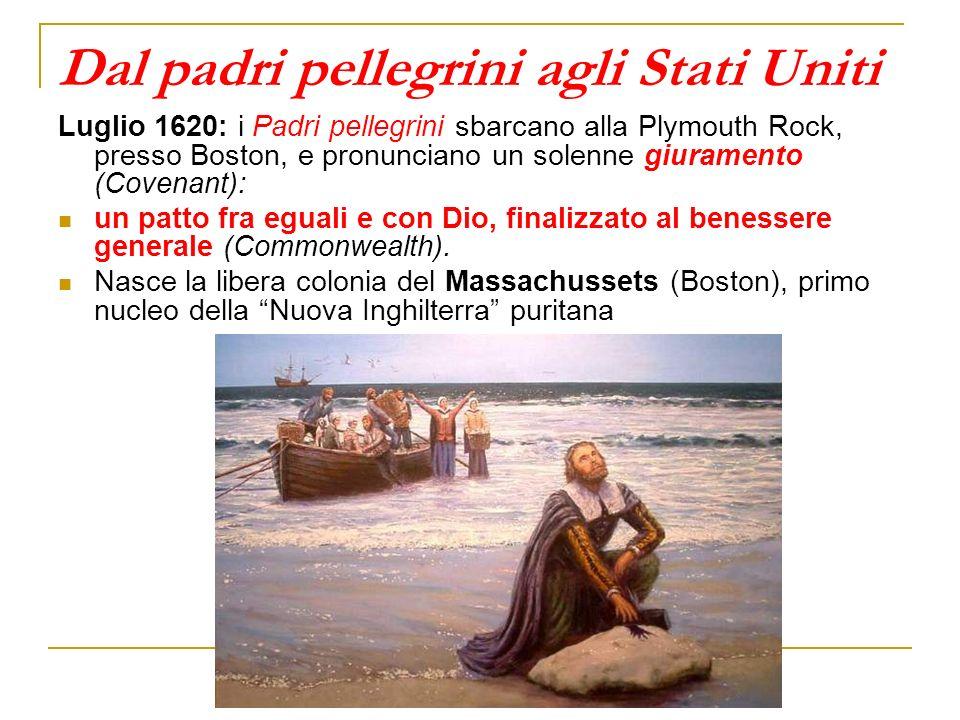 Dal padri pellegrini agli Stati Uniti