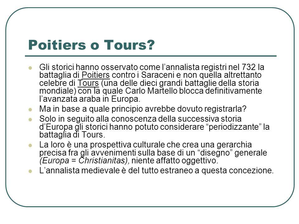 Poitiers o Tours
