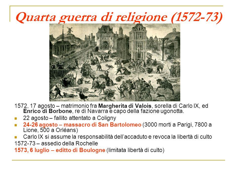 Quarta guerra di religione (1572-73)