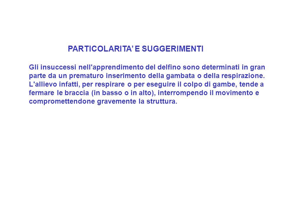 PARTICOLARITA' E SUGGERIMENTI