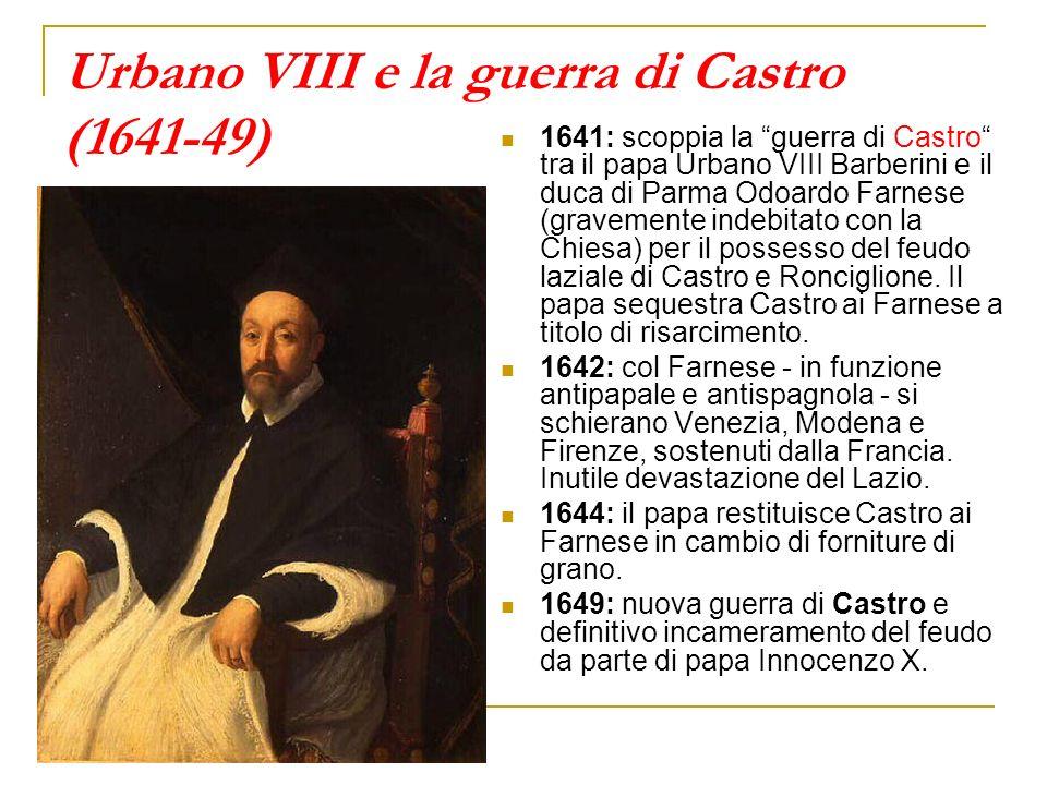 Urbano VIII e la guerra di Castro (1641-49)