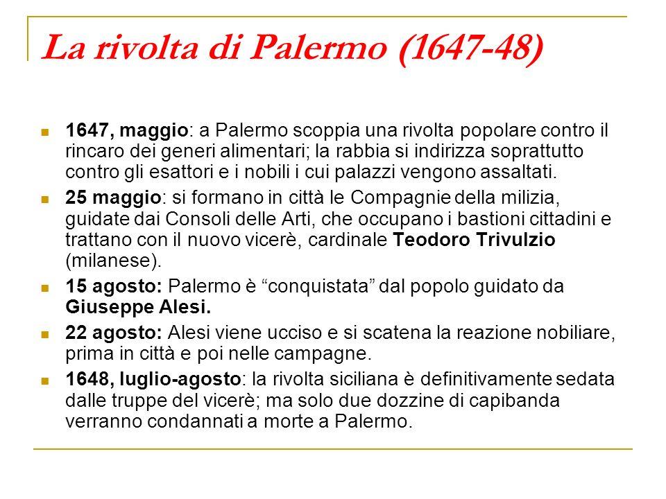 La rivolta di Palermo (1647-48)