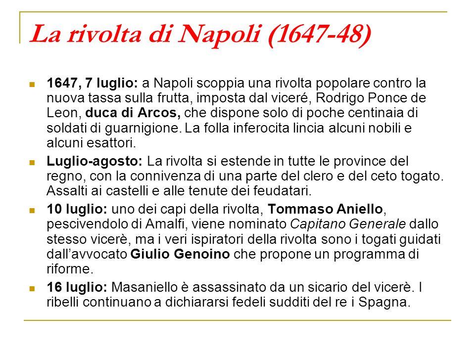 La rivolta di Napoli (1647-48)