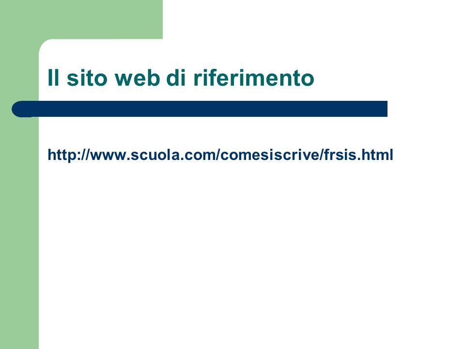 Il sito web di riferimento