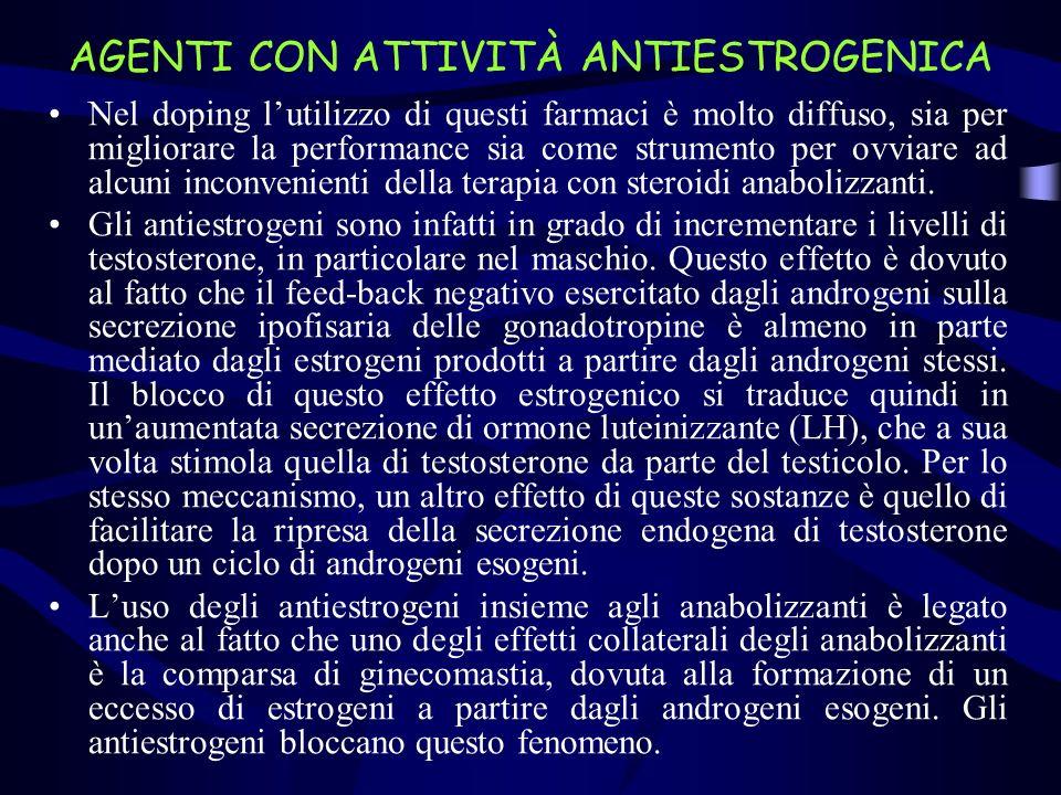 AGENTI CON ATTIVITÀ ANTIESTROGENICA