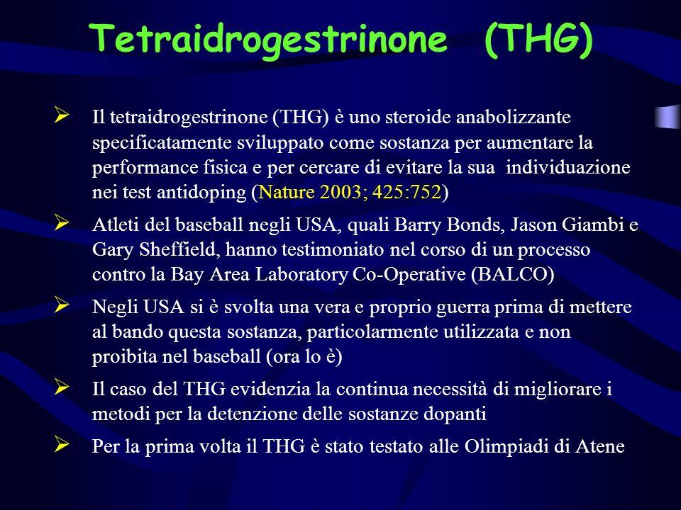 Tetraidrogestrinone (THG)
