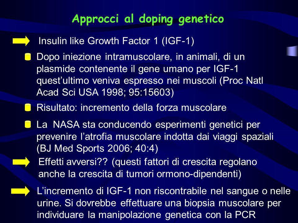Approcci al doping genetico