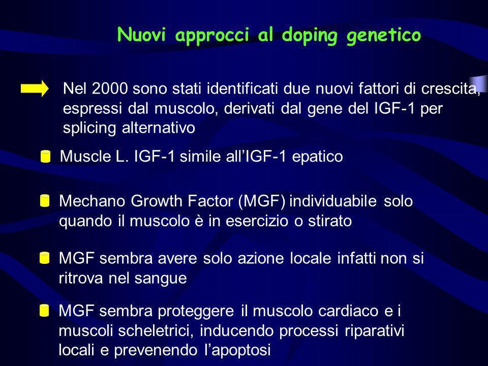 Nuovi approcci al doping genetico