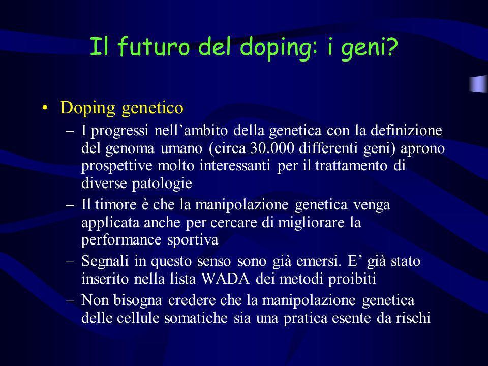 Il futuro del doping: i geni