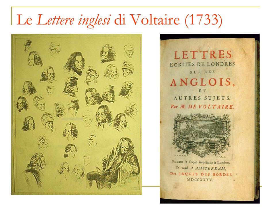 Le Lettere inglesi di Voltaire (1733)