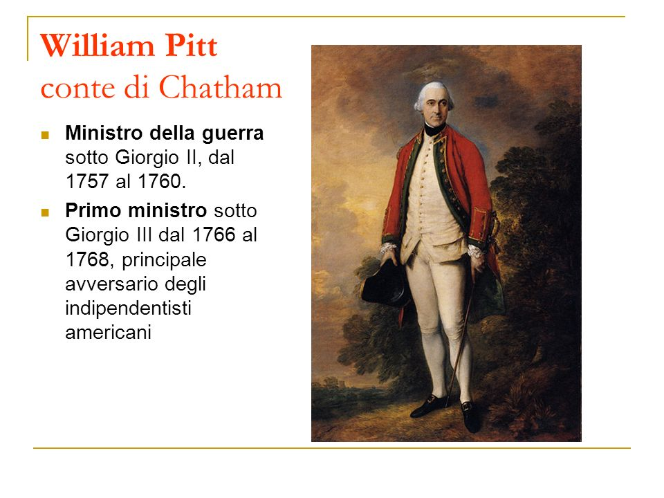 William Pitt conte di Chatham
