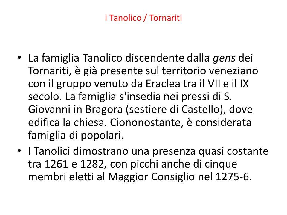 I Tanolico / Tornariti