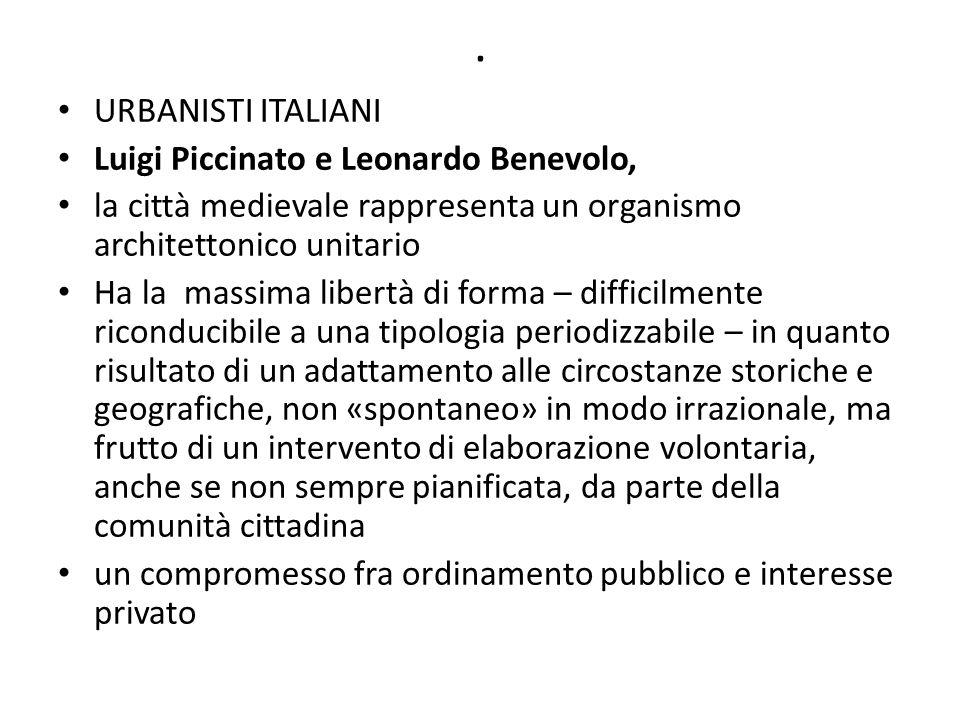 . URBANISTI ITALIANI Luigi Piccinato e Leonardo Benevolo,