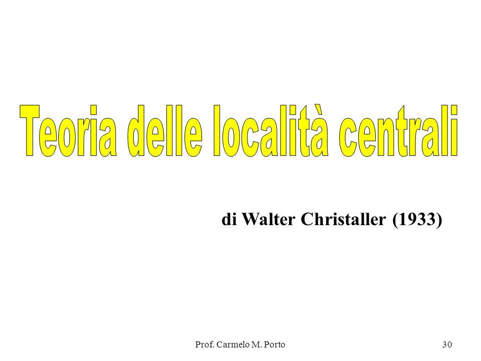 Teoria delle località centrali