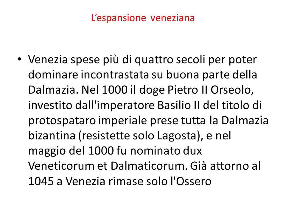 L'espansione veneziana