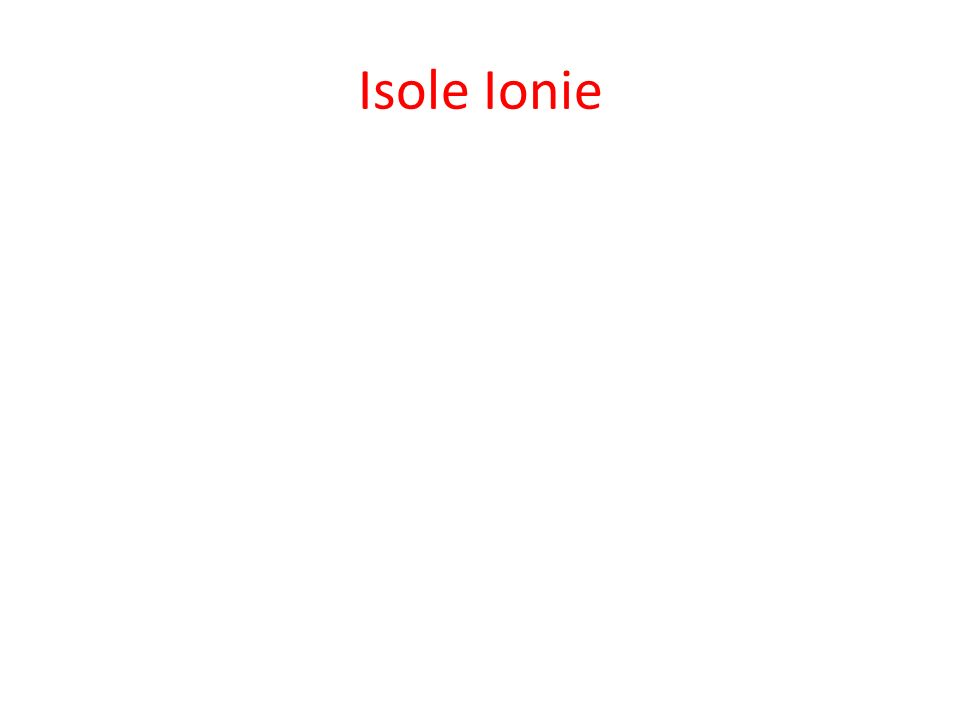 Isole Ionie