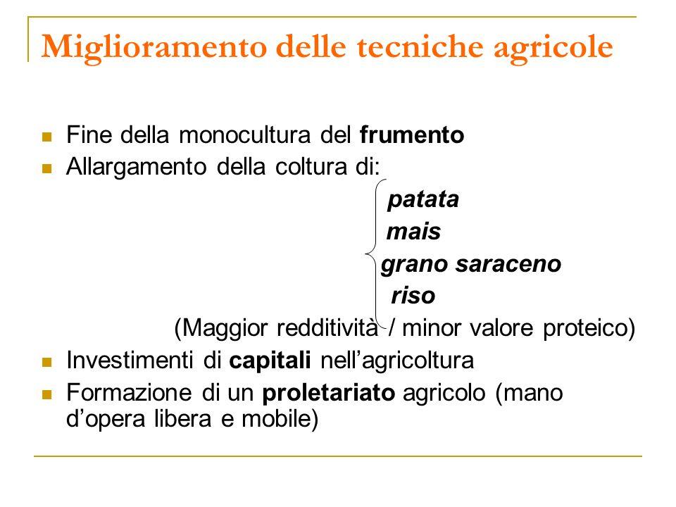 Miglioramento delle tecniche agricole