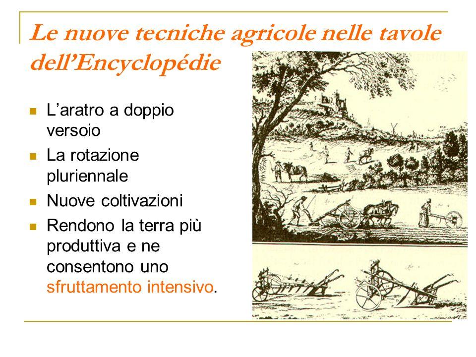 Le nuove tecniche agricole nelle tavole dell'Encyclopédie
