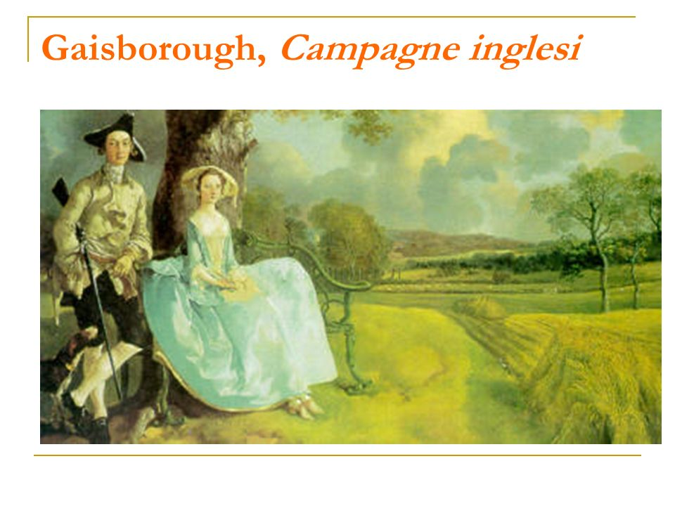 Gaisborough, Campagne inglesi