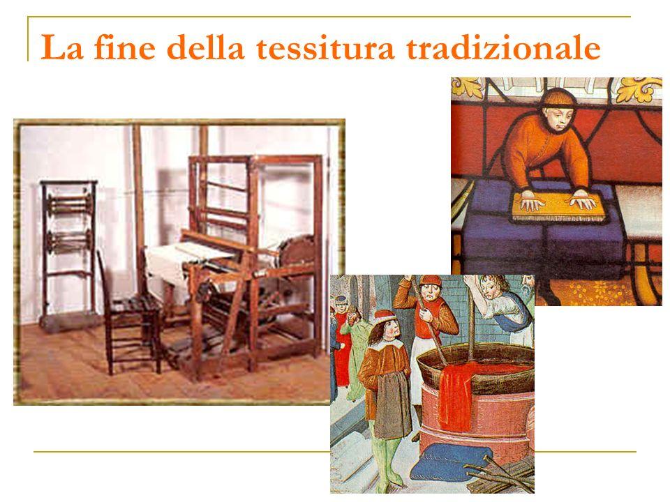 La fine della tessitura tradizionale