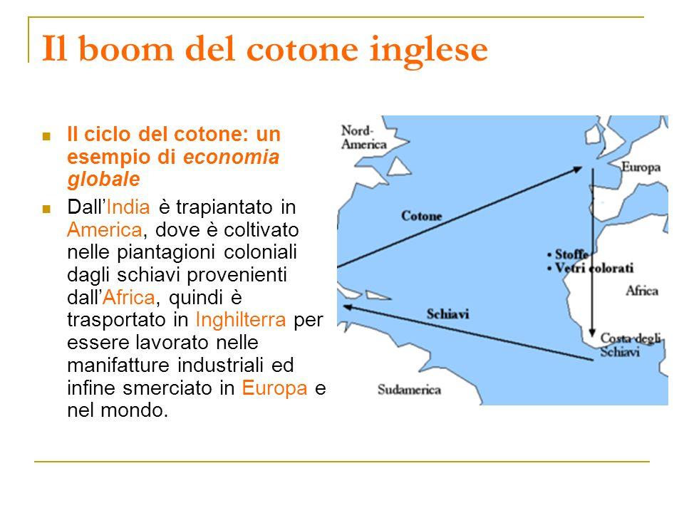 Il boom del cotone inglese