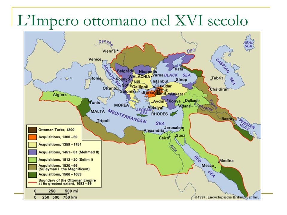 L'Impero ottomano nel XVI secolo