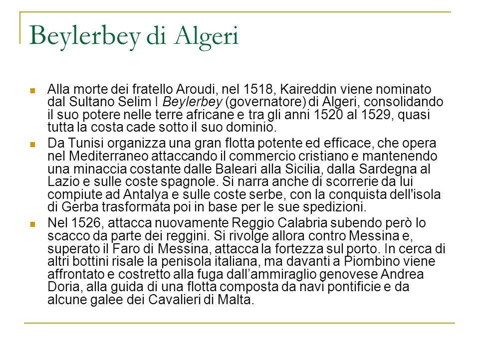 Beylerbey di Algeri