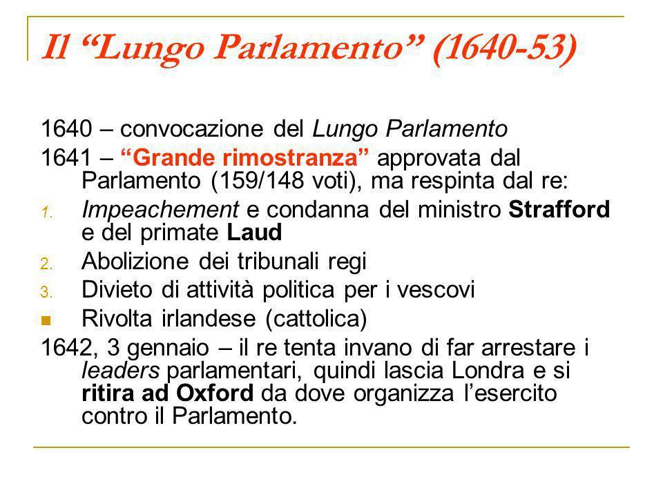 Il Lungo Parlamento (1640-53)