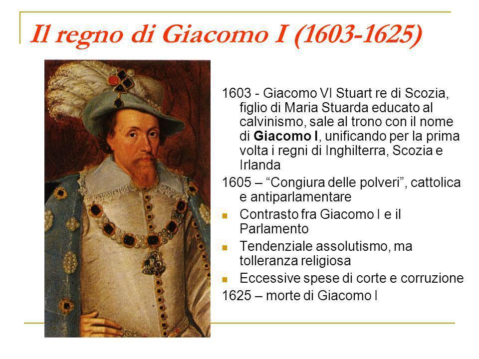 Il regno di Giacomo I (1603-1625)