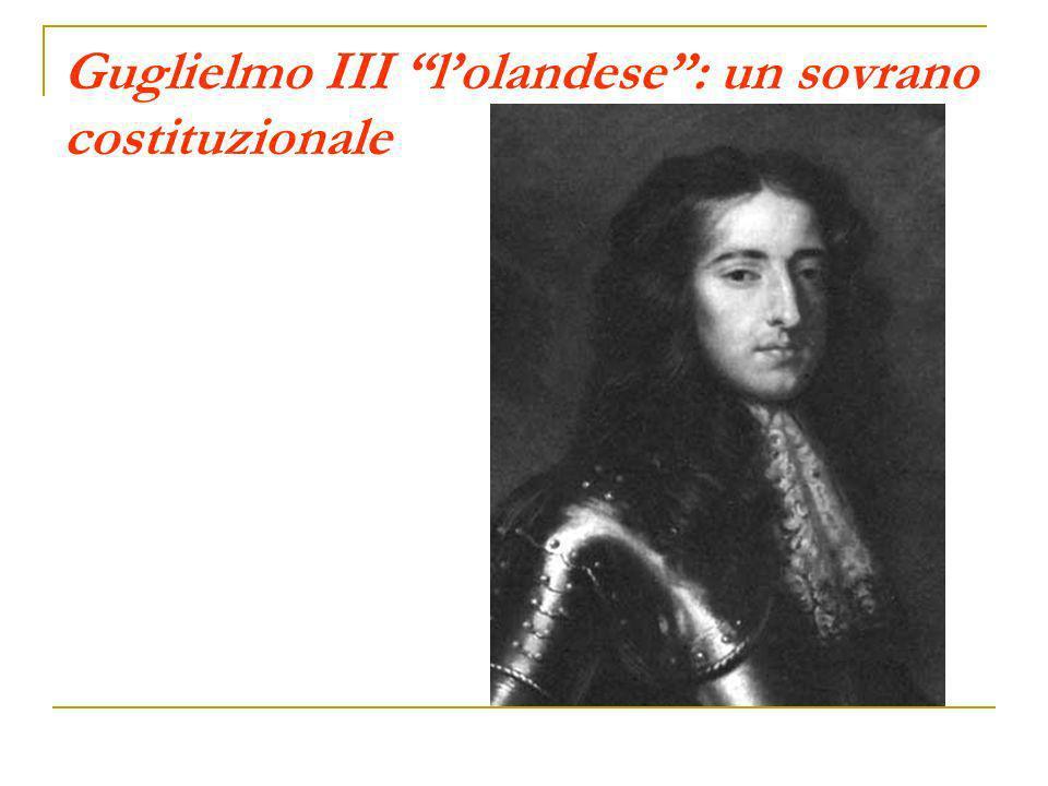 Guglielmo III l'olandese : un sovrano costituzionale