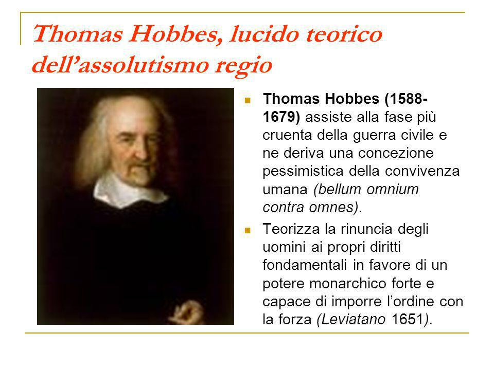 Thomas Hobbes, lucido teorico dell'assolutismo regio