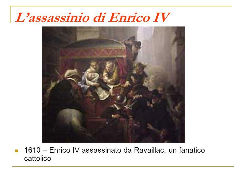 L'assassinio di Enrico IV