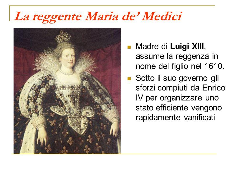 La reggente Maria de' Medici