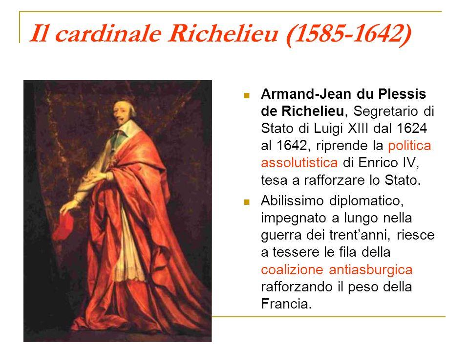 Il cardinale Richelieu (1585-1642)