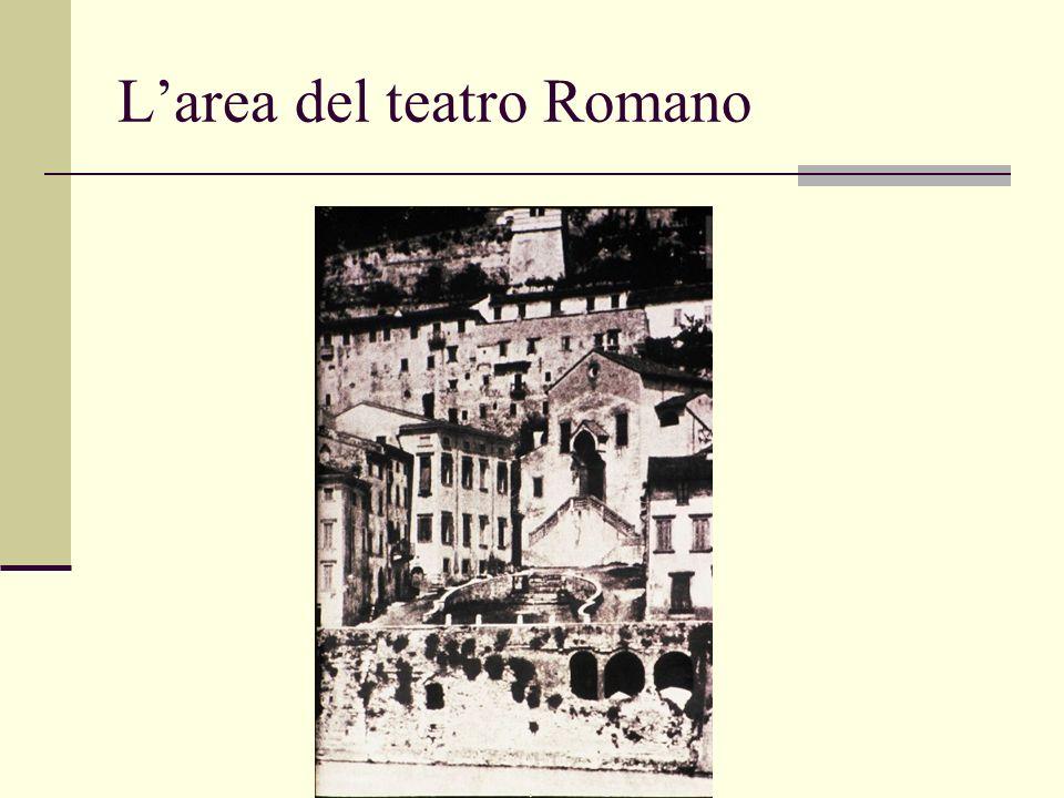L'area del teatro Romano