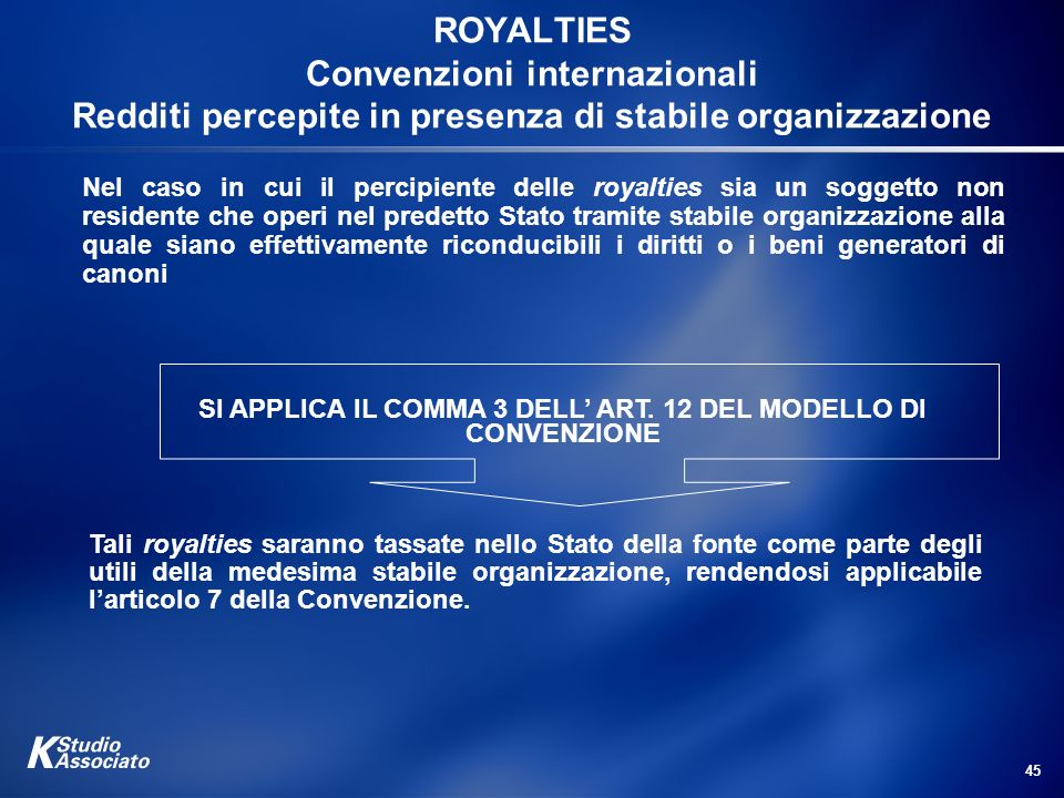 SI APPLICA IL COMMA 3 DELL' ART. 12 DEL MODELLO DI CONVENZIONE
