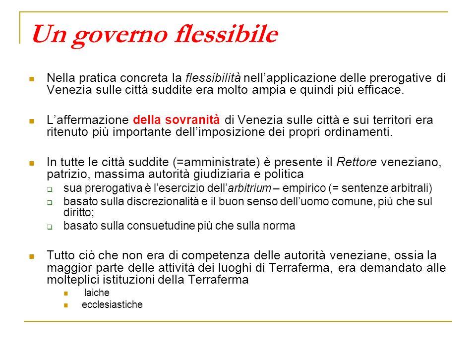Un governo flessibile