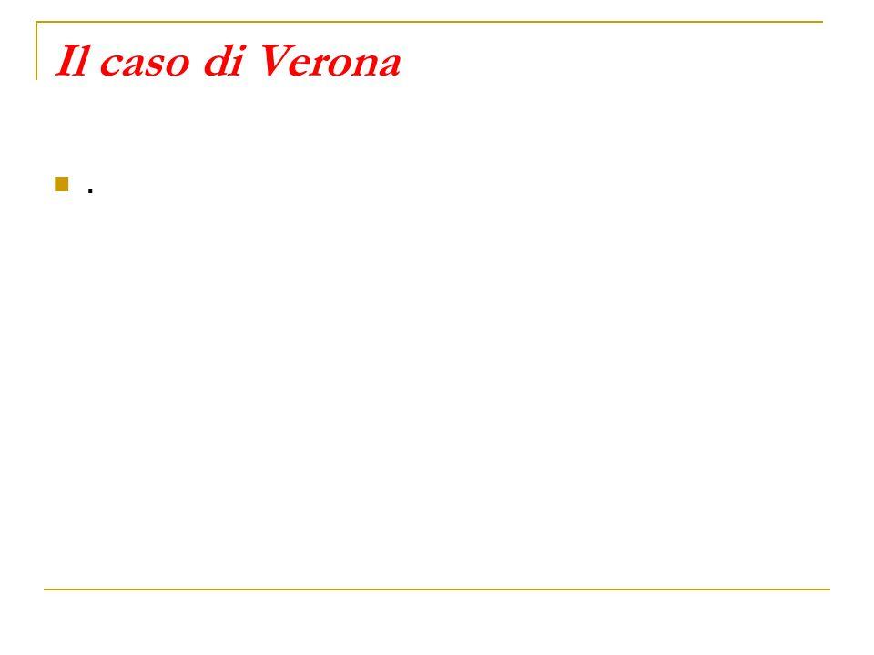 Il caso di Verona .