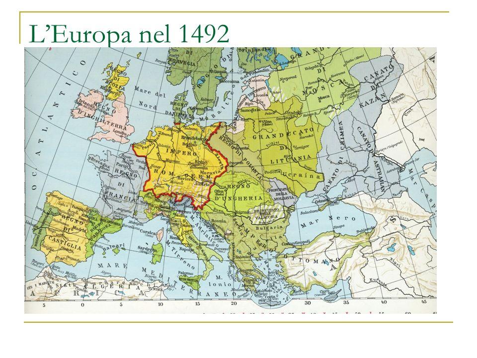 L'Europa nel 1492