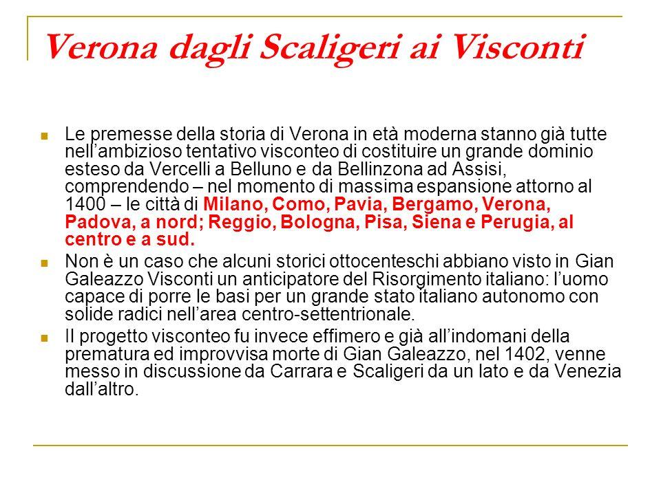 Verona dagli Scaligeri ai Visconti