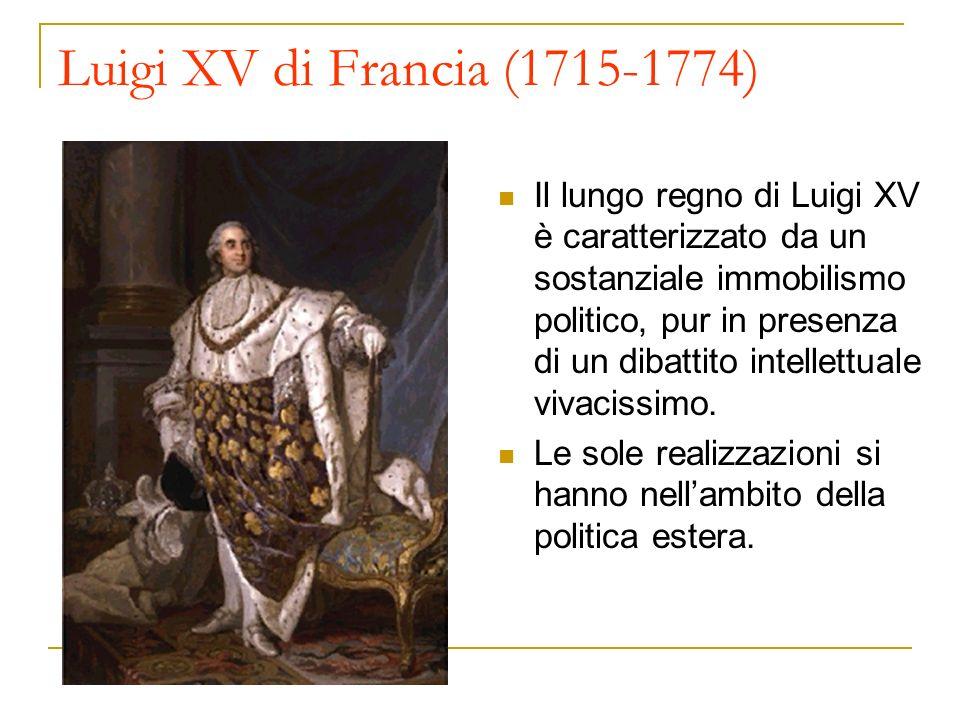 Luigi XV di Francia (1715-1774)