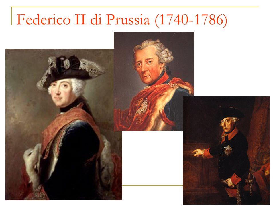 Federico II di Prussia (1740-1786)