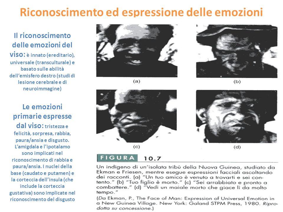 Riconoscimento ed espressione delle emozioni