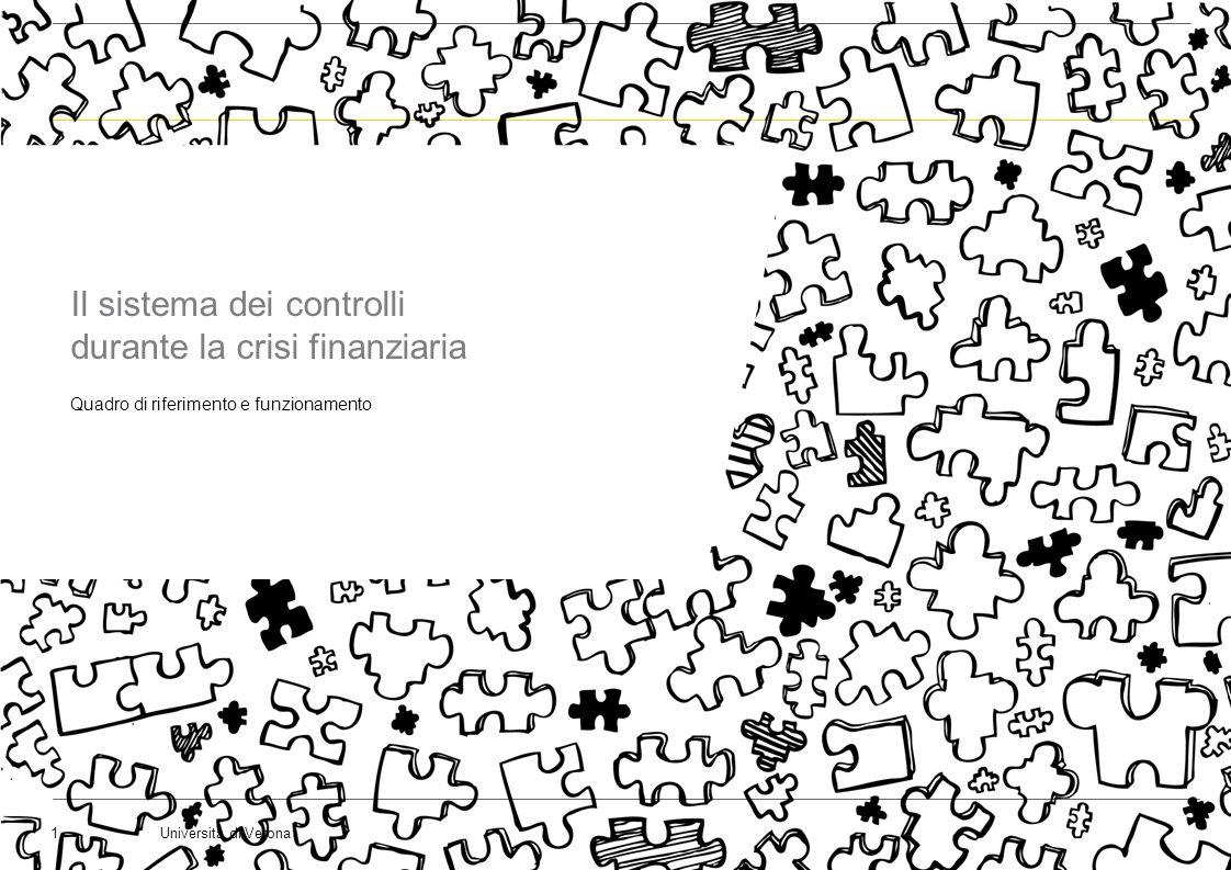 Il sistema dei controlli durante la crisi finanziaria