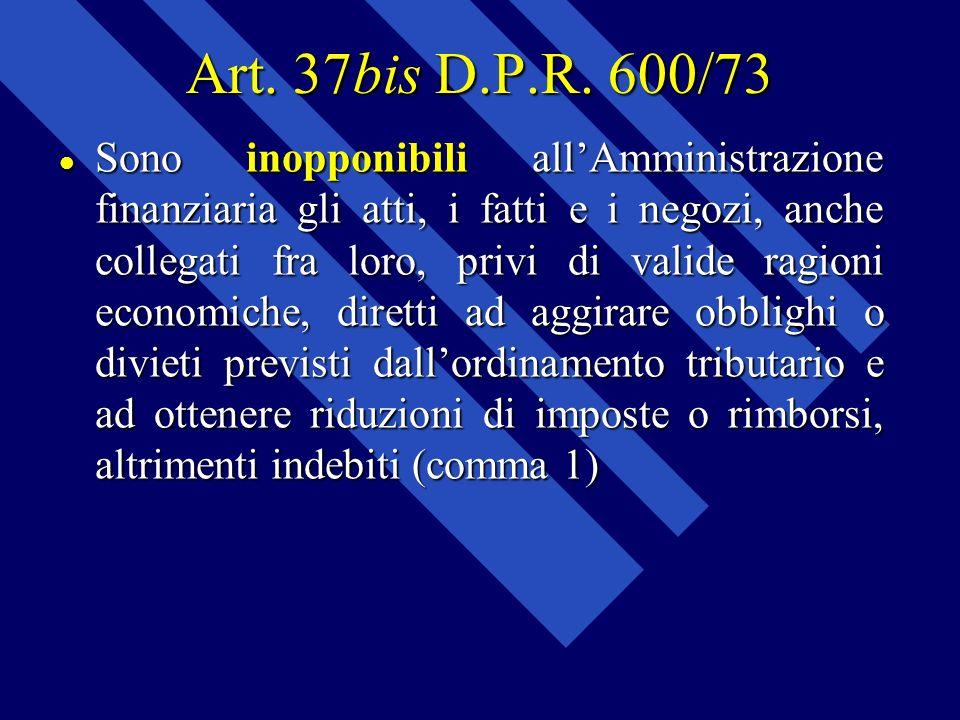 Art. 37bis D.P.R. 600/73